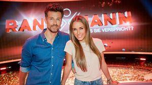 """Annemarie und Wayne Carpendale bei """"Ran an den Mann"""""""