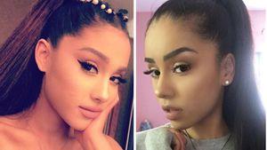 Süßes Double: Dieses Girl sieht aus wie Ariana Grande!