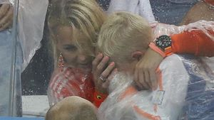WM-Aus: Hier weint Robbens kleiner Sohn bitterlich