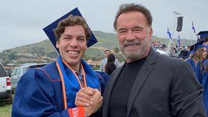 Ex-Affäre dabei: Arnie Schwarzenegger bei Abschluss von Sohn