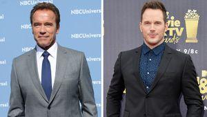 Segen von Dad Schwarzenegger? Arnie schwärmt von Chris Pratt