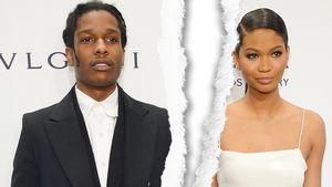 ASAP Rocky und Chanel Iman