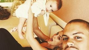 Ashlee Simpson, Evan Ross und Jagger Snow Ross