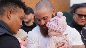 Magensonde kaputt: Ashley Cains Tochter zurück in Klinik