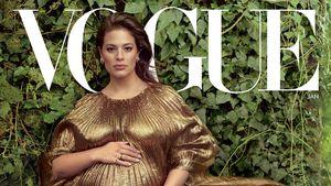 Mit XXL-Babykugel: Ashley Graham auf dem US-Vogue-Cover!