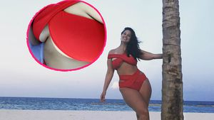 Ashley Graham im Urlaub