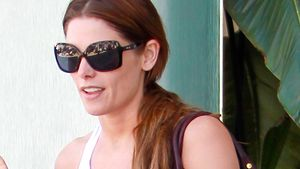 Leggings-Falle! Ashley Greene riskiert Cameltoe