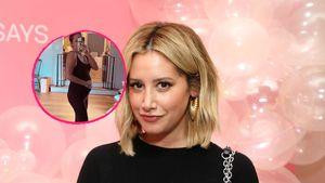 Ganz schön rund: Ashley Tisdale zeigt ihren Babybauch