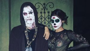 Ashley Tisdale bei Vanessa Hudgens' jährlicher Holloween-Party 2016