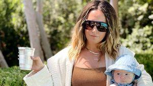 Badeanzug und Baby: So feierte Ashley Tisdale Geburtstag