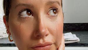 Tränen-Selfie: Ashley Tisdale fällt Mama-Alltag nicht leicht