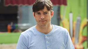 Ashton Kutcher in New York