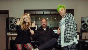Mit zwei Kollegen: Avril Lavigne arbeitet an neuer Musik