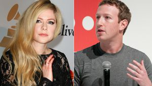 Avril Lavigne & Mark Zuckerberg