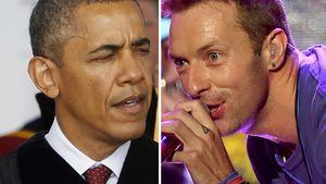 Große Ehre: Barack Obama singt auf neuem Coldplay-Album!