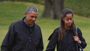 Emotionaler Obama: So hart war Abschied von Tochter Malia!