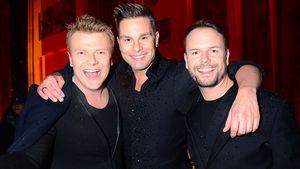 Bastiaan Ragas, Eloy de Jong und Lee Baxter, Mitglieder der Band Caught in the Act