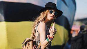 Behati Prinsloo auf dem Coachella-Festival 2017