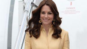 Herzogin Kate bei ihrer Ankunft in Bhutan