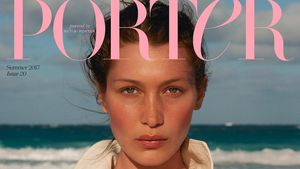 Bella Hadid auf dem Cover von Porter