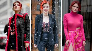Sexy Schneehase: Bella Thorne mit 3 heißen Outfits in NY!