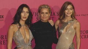 Bella, Yolanda und Gigi Hadid auf einer Party in Paris