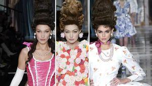Tolle Looks: Bella, Gigi und Kaia bezaubern auf Fashion Week
