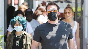 Familienzeit: Ben und J.Lo schlendern mit Emme über Markt