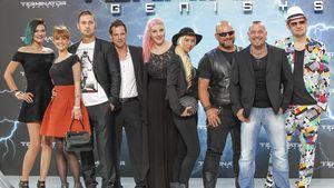 Berlin - Tag & Nacht Cast bei Filmpremiere