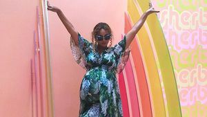 Beyoncé im Museum of Ice Cream