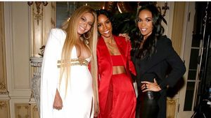 Beyoncé, Kelly Rowland und Michelle Williams auf Solanges Post-Grammy Party