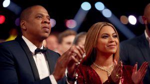 Beyoncé und Jay-Z bei den 59. Grammy Awards