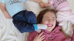 Bibi Claßen gerührt: Erster Muttertag als Zweifach-Mama