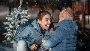 Bibi Claßen teilt süßes Foto mit Sohnemann Lio im Schnee