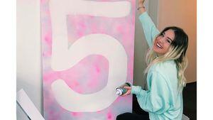 Total stolz: Bibi Heinicke schon fünf Jahre bei Instagram!