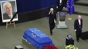 Abschieds-Rede für Helmut Kohl: Bill Clinton ganz emotional