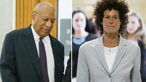 Bill Cosby und Andrea Constand