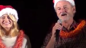 Emma Stone und Bill Murray