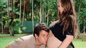 Schwangere Bindi Irwin bekommt viel Kritik für Babyfoto!