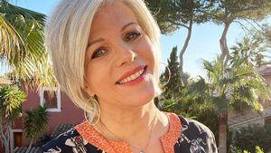Throwback-Pic: Birgit Schrowange hatte mit 35 graue Strähnen