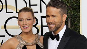 Blake Lively und Ryan Reynolds auf dem roten Teppich der 74. Golden Globe Awards