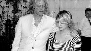 Peaches Geldof und Bob Geldof