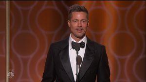 Brad Pitt bei den 74. Golden Globe Awards