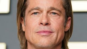 Nach Trennung von Nicole: Brad Pitt gut gelaunt gesichtet
