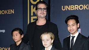 3 Wochen nach Trennung: Brad Pitt sieht seine Kids wieder!