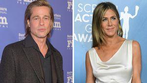 Brad Pitt und Jennifer Aniston feiern virtuelle Reunion!