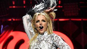 Britney Spears auf der Bühne in Los Angeles
