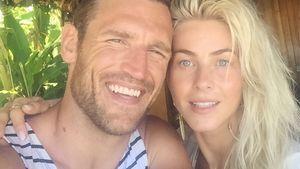 Brooks Laich und Julianne Hough in ihren Flitterwochen
