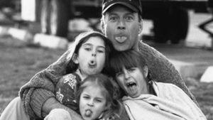 Mit Glatze: Süße B-Day-Grüße seiner Töchter für Bruce Willis