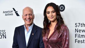 """Bruce Willis & Emma turteln öffentlich auf """"Glass""""-Premiere"""